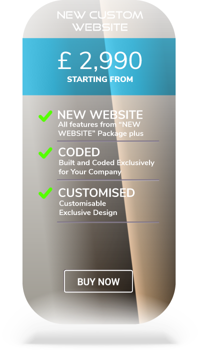 custom web